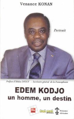 Edem Kodjo, un homme, un destin, de Venance Konan