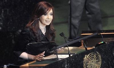 Argentine : Cristina Fernández de Kirchner a fustigé devant l'Onu les mensonges de l'Occident