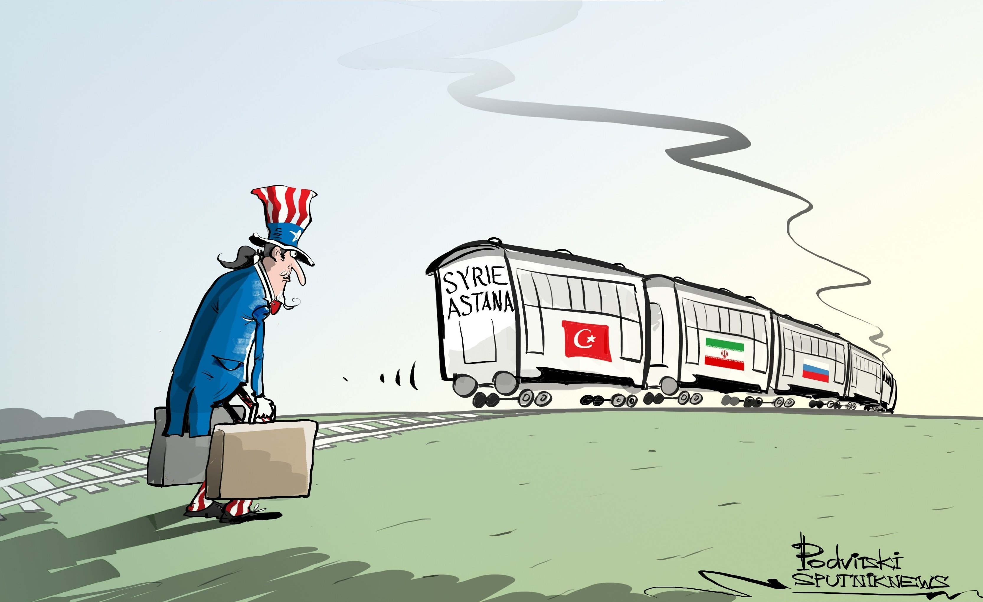 Aller à Astana, aller à Canossa !