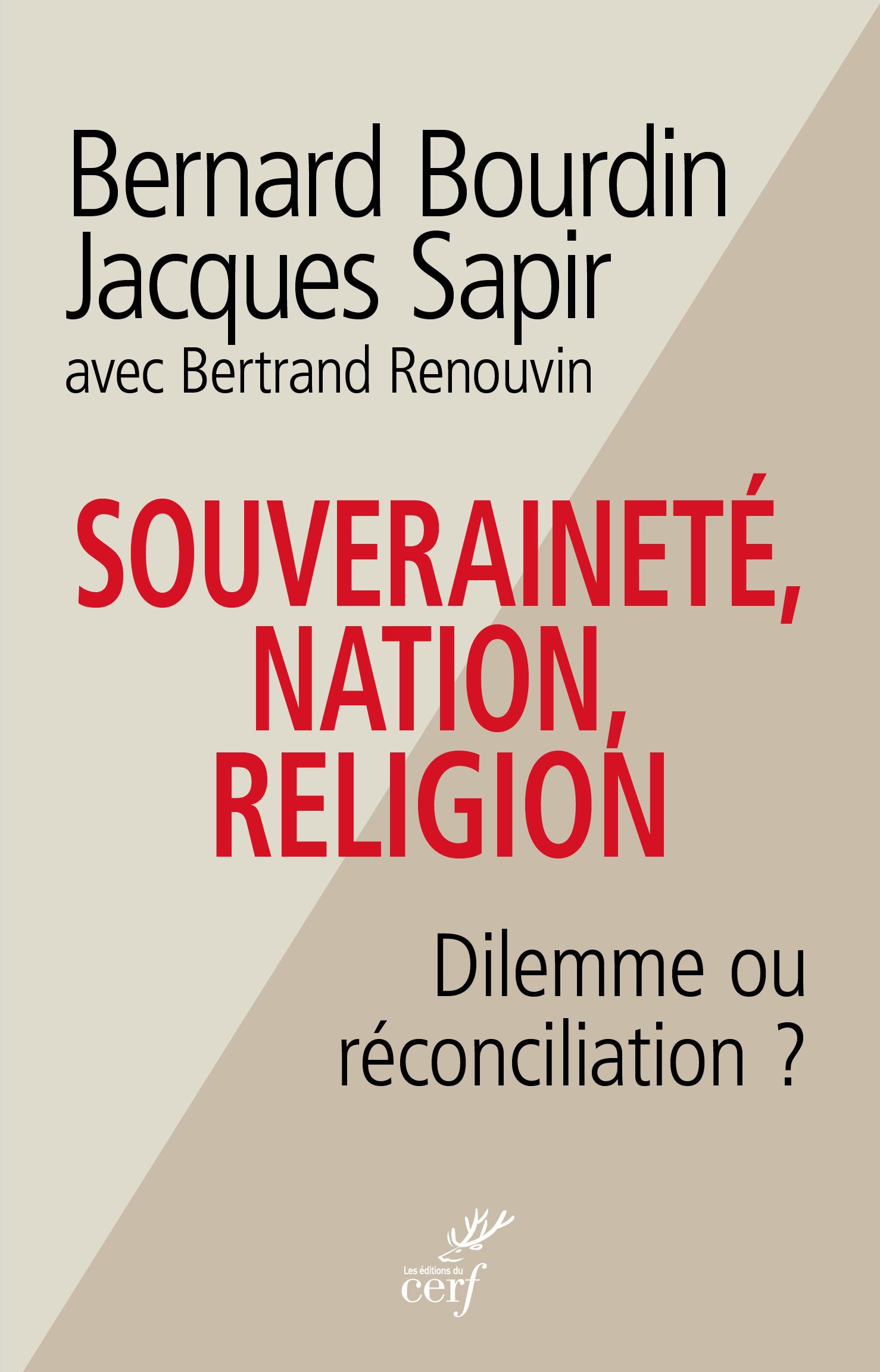 Religion politiqueBOURDIN SAPIR