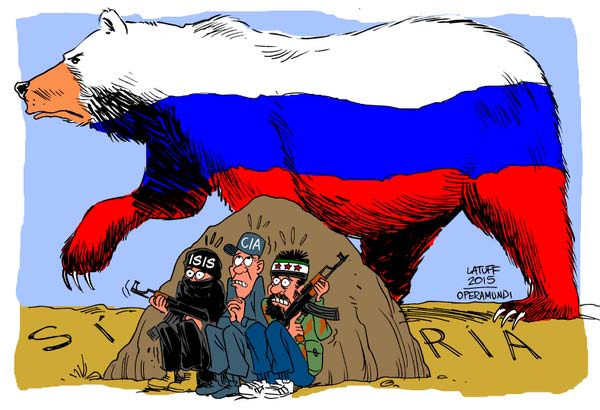 Yves Bonnet et lOurs russe