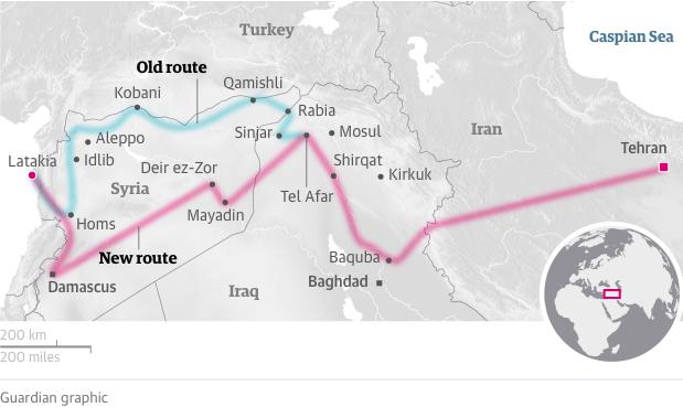 L'axe de la résistance Iran-Irak-Syrie-Hezbollah se concrétise