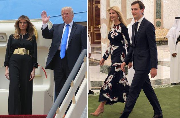 Trump d'Arabie et la vache à lait saoudienne qui se laisse traire avant d'être égorgée