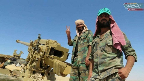 Syrie : l'armée syrienne poursuit sa progression… la coalition multiplie ses massacres…Damas réclame sa dissolution