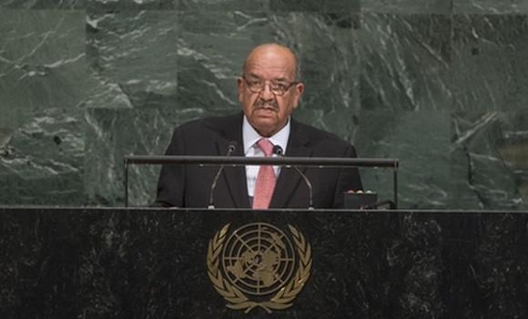 Algérie/Onu -  « Il est impératif que nous nous attelions à réformer notre Organisation pour la mettre en position d'assumer pleinement ses missions » (Messahel)