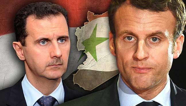 Laissez tomber la Syrie, M. Macron, vous êtes « out »
