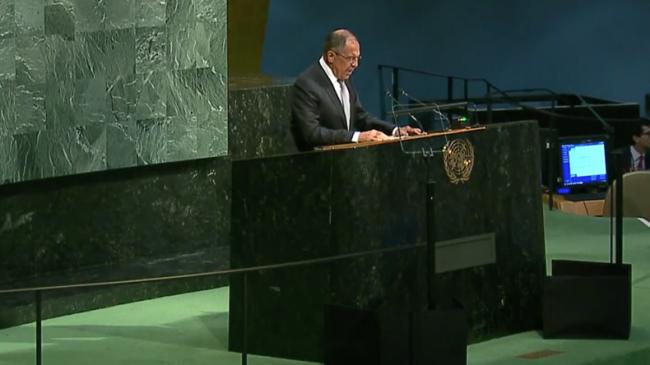 ONU - Sergueï Lavrov accuse les Etats-Unis et leurs supplétifs arabo-occidentaux de complicité avec al-Qaïda en Syrie