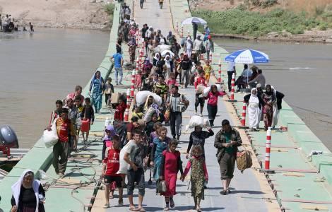 Fuite d'une partie de la population après le référendum en faveur de l'indépendance du Kurdistan irakien (Vatican)