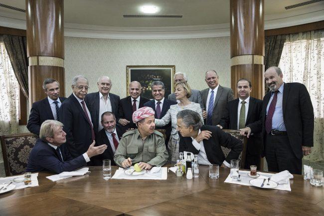 Kouchner, Israël et l'indépendance des Kurdes