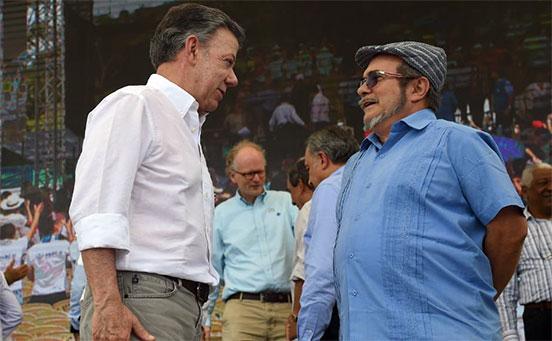 Désaccords de paix en Colombie