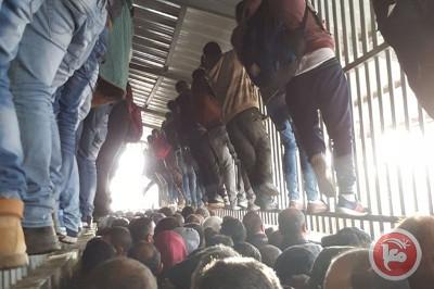 L'humiliation quotidienne des travailleurs palestiniens aux checkpoints israéliens