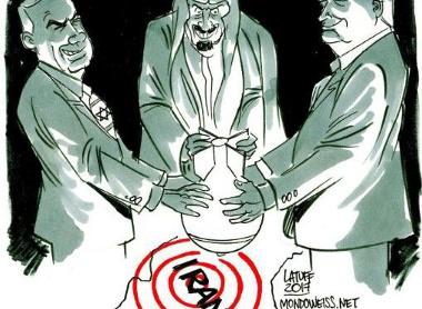 La dynastie Saoud est prête à vendre la Palestine aux Israéliens pour entre en guerre avec l'Iran ! (Al-Akhbar)