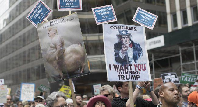 Donald Trump au secours des ultra-riches américains