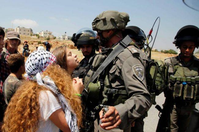 La jeune Palestinienne Ahed Tamimi, figure de la lutte contre l'occupation israélienne, arrêtée