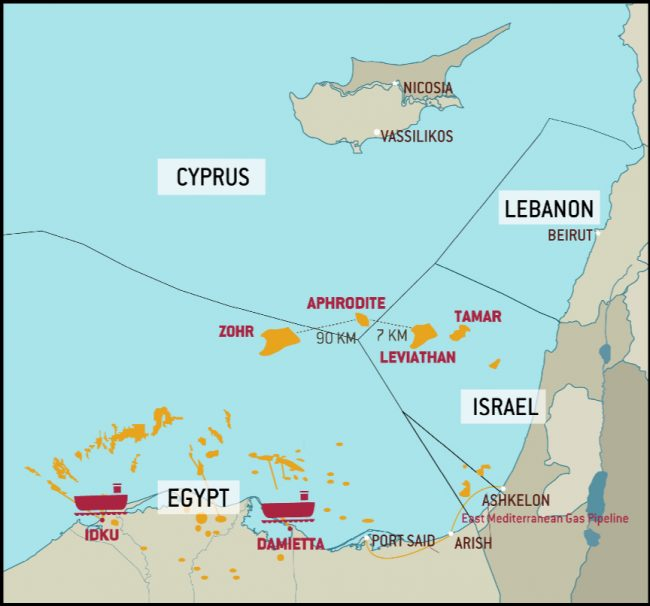 Géopolitique du gaz en méditerranée orientale