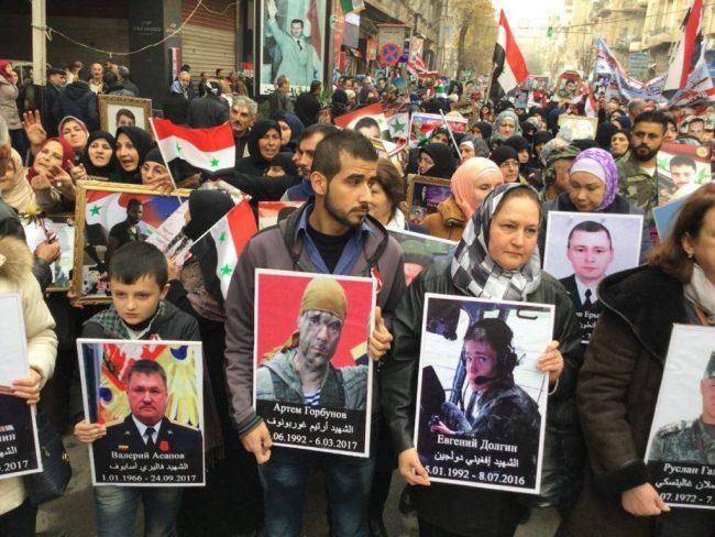 L'homme de l'année 2018 du Saker : tous ceux qui ont donné leur vie pour la Syrie