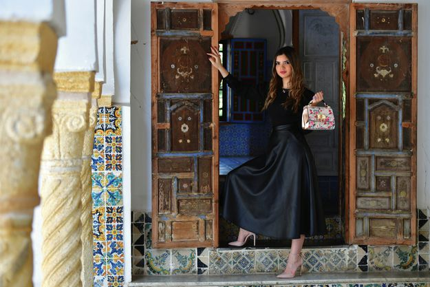 Rym Amari, la miss de l'info algérienne