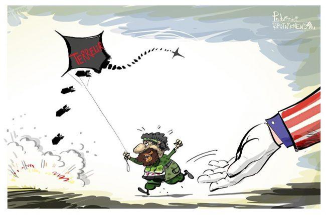 Attaques de drones en Syrie, le grand silence