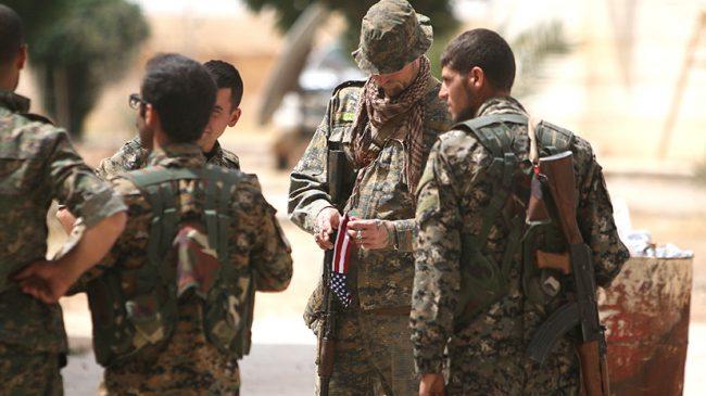 Les Etats-Unis s'attaquent à l'intégrité territoriale de la Syrie avec leurs supplétifs kurdes