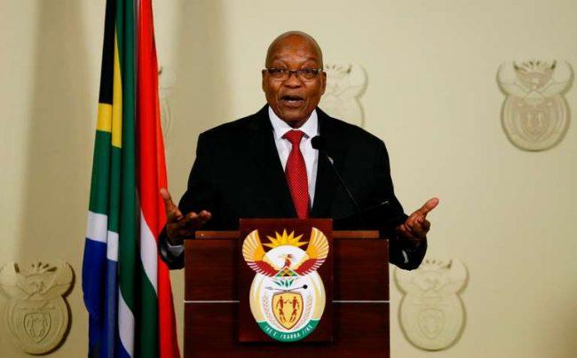 Finalement, Zuma jette l'éponge !