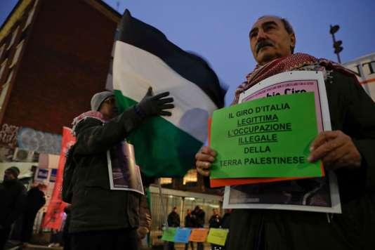 Les organisateurs du Giro se couchent devant la colère du gouvernement israélien