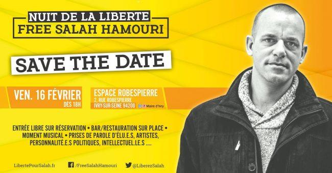 Palestine : Libérez Salah Hamouri !