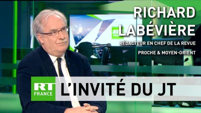Frappes en Syrie : Richard Labévière et Alain Corvez sur RT France