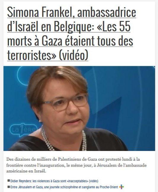 Tous les ambassadeurs d'Israël sont des terroristes…