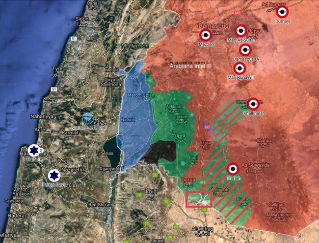 Damas reprendra le contrôle du sud de la Syrie qu'il y ait accord ou pas entre Russes et Israéliens