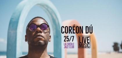 Coréon Dù en concert au Gosier, à la Guadeloupe