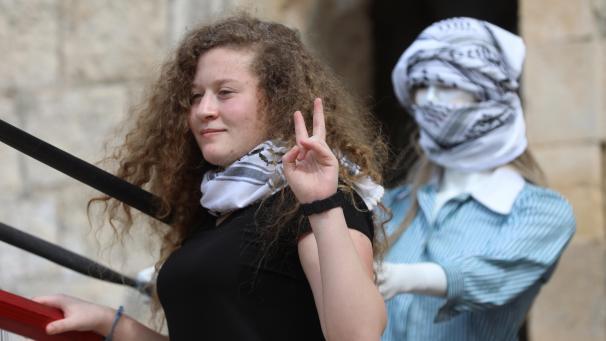 Huit mois de détention n'ont pu briser Ahed Tamimi