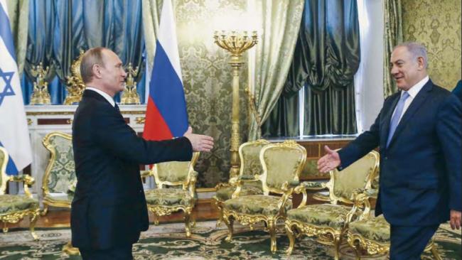 Avion russe abattu en Syrie :Moscou et Tel-Aviv doivent revoir leurs accords…