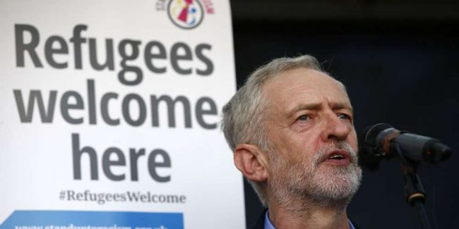 Jeremy Corbyn, l'hoome à abattre
