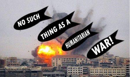 « Nous vous avons bombardés pour vous sauver ! »