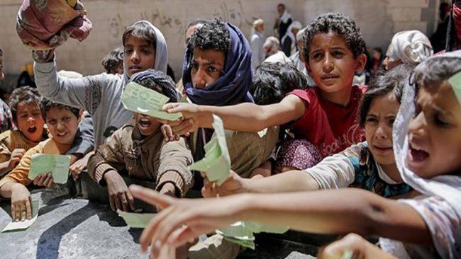 Menace immédiate de famine pour 14 millions de Yéménites