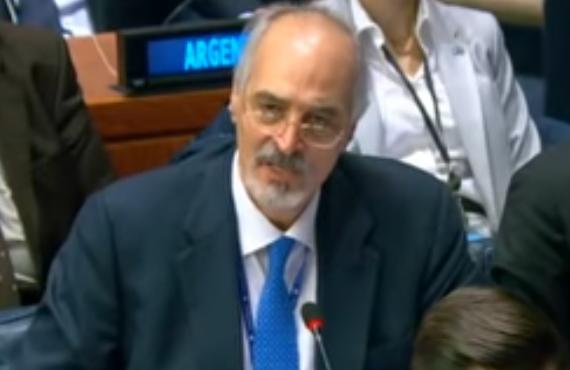 Bachar al-Jaafari à l'ONU : Nous récupérerons le Golan par la paix ou par la guerre