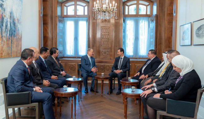 Syrie : retour dans le giron arabe