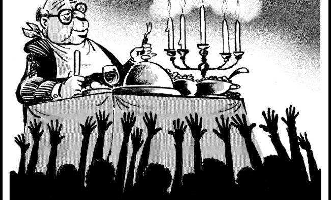 """Les """"salauds de pauvres"""" et l'opium du peuple…"""