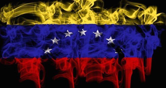 Peleas à Caracas