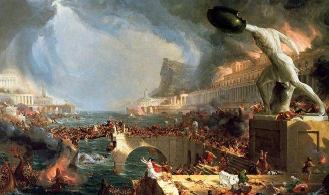 L'Italie, l'UE et la chute de l'empire romain