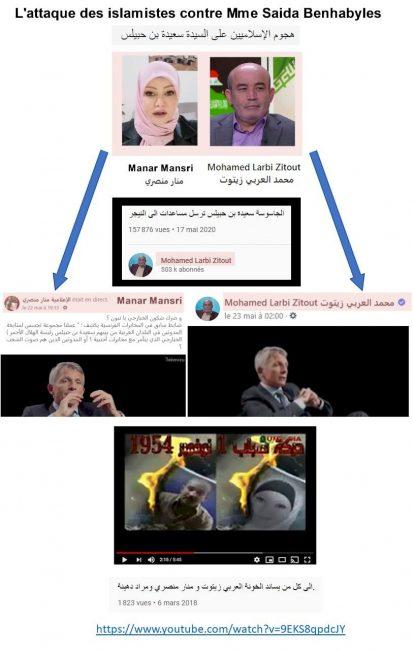 Mensonges sur Saida Benhabyles: Éric Denécé déshabille Larbi Zaitout
