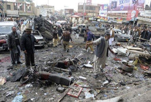 Pakistan: 92 morts dans une série d'attentats à Quetta