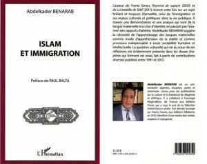Islam et immigration, de Abdelkader Benarab