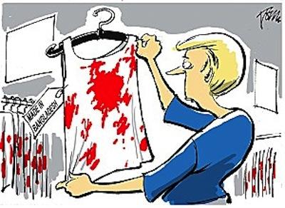 Bangladesh : une tragédie pas si lointaine que ça…