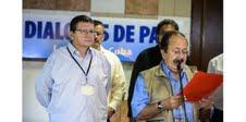 Accord à la Havane entre le président Santos et les FARC