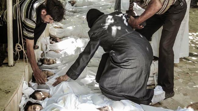 Le massacre d'un village syrien commis par un groupe exclu de la liste noire de l'ONU