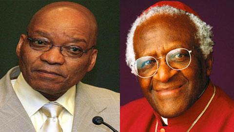 Desmond Tutu à l'ANC : Jacob Zuma doit retirer sa candidature