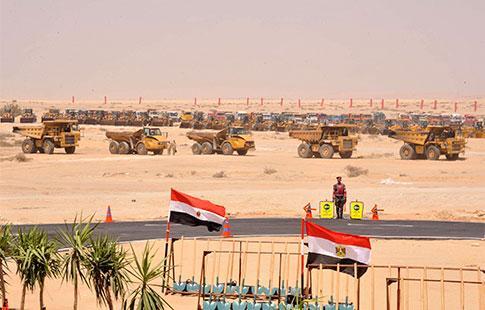 Canal de Suez : Quatre questions sur un chantier pharaonique inauguré par Al-Sissi