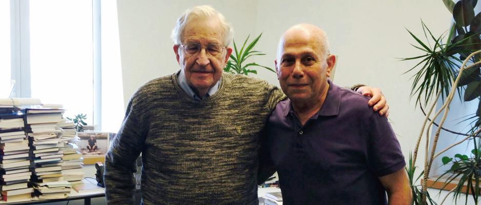 Interview exclusive de Noam Chomsky à madaniya.info