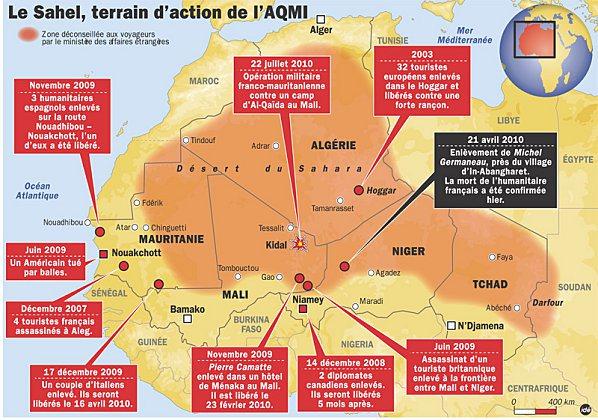 Otage français : Quatre membres d'AQMI remis en liberté…